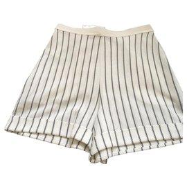 Christian Dior-Short-Blanc