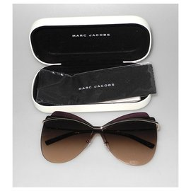 Marc Jacobs-Sonnenbrille-Silber,Lila