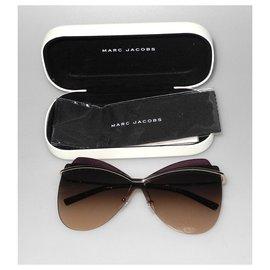 Marc Jacobs-Sunglasses-Silvery,Purple