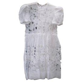 Autre Marque-Kleider-Weiß