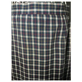 Burberry-Burberry tartan cotton skirt-Multiple colors