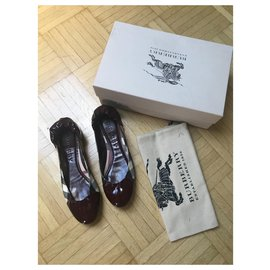 Burberry-Ballet flats-Red