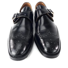 Church's-Loop shoes , made by CHURCH'S 8 F made in England-Black