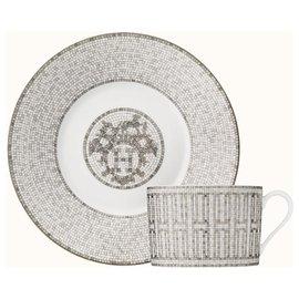 Hermès-Misc-White,Grey