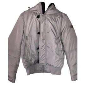 Peuterey-Men Coats Outerwear-Grey