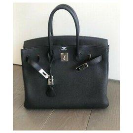 Hermès-Birkin 40 Togo-Noir