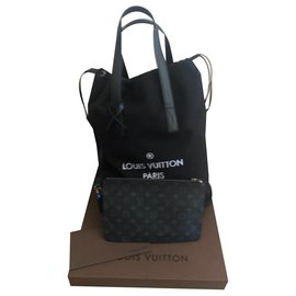 bff46cad5aaff Louis Vuitton-Sac Louis Vuitton Cabas light-Noir ...