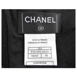 Chanel-Chanel Minijupe À Paillettes Noir FR38-Noir