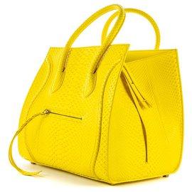 Céline-Handbags-Yellow