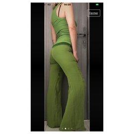 Dirk Bikkenbergs-tailleur pantalon-Vert
