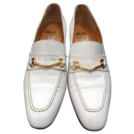 Céline-Church´s Loafers-White