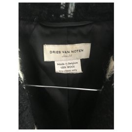 Dries Van Noten-Vestes-Noir,Blanc,Beige