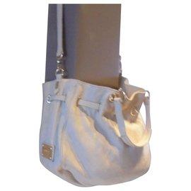 Louis Vuitton-Sac XXL Louis Vuitton Vintage Collector rare très recherché-Beige