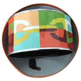 Hermès-jjonc émail extra large-Multicolore