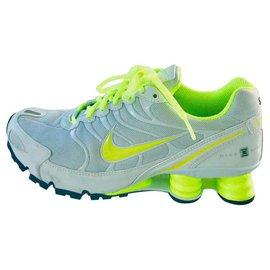 Nike-NIKEiD Nike Shox Turbo VI iD-Blanc