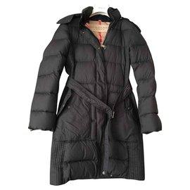Burberry-Manteaux, Vêtements d'extérieur-Noir