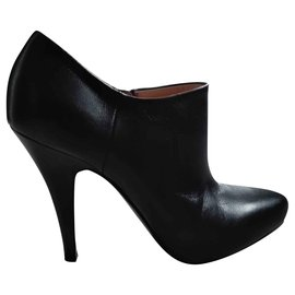 Prada-Ankle Boots-Dark grey