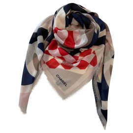 Chanel-FOULARD CHANEL CASHMERE-Multiple colors