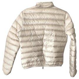 Moncler-Coats, Outerwear-Beige