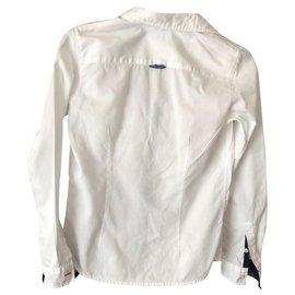 Armani-T-shirts-Blanc