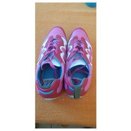Kenzo-Sneakers Kenzo rétro-Rose,Blanc,Rouge