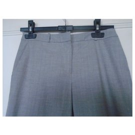 Hugo Boss-Pantalons, leggings-Gris
