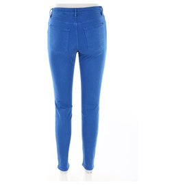 Acne-Pantalons, leggings-Bleu