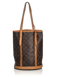 Louis Vuitton-Louis Vuitton Seau Monogramme Marron GM-Marron