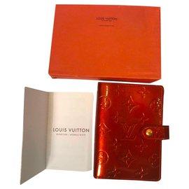 Louis Vuitton-Carnet de notes Louis Vuitton-Marron