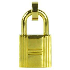 Hermès-Padlock belt buckle-Golden