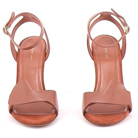 Céline-sandals-Brown