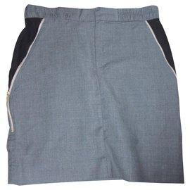 Ikks-IKKS skirt-Grey