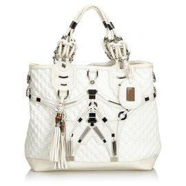 Gucci-Sac cabas Gucci en techno blanc-Blanc