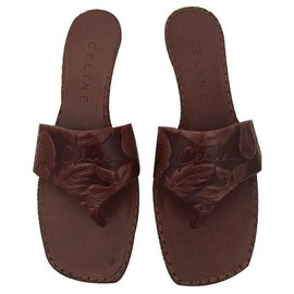 Céline-Sandals-Brown