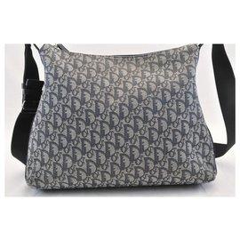 Dior-Dior Trotter Shoulder Bag-Blue