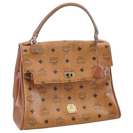 MCM-MCM Classique Leather-Brown