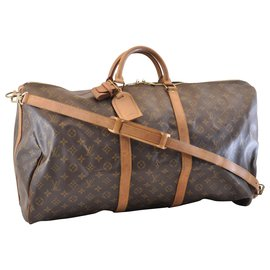 Louis Vuitton-Louis Vuitton Keepall Bandouliere 60-Marron