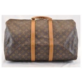 Louis Vuitton-Louis Vuitton Keepall 45-Marron