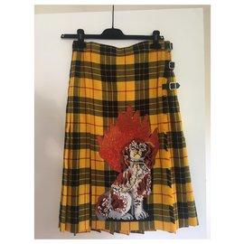 Gucci-Jupe en laine-Multicolore