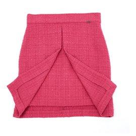 Chanel-PINK TWEED FR40/42-Pink