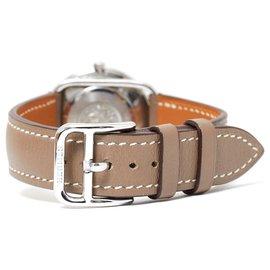 Hermès-ARCEAU MM ETOUPE-Silvery