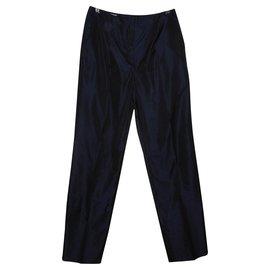 Cerruti 1881-Pantalons, leggings-Bleu Marine