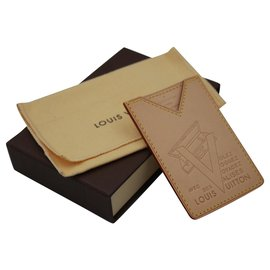 Louis Vuitton-portefeuilles-Marron clair