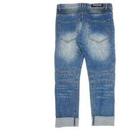 Balmain-USED SKINNY FR38/40-Bleu