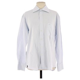 Balenciaga-Shirt-Light blue