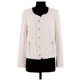 Bel Air-Veste / Blazer-Blanc