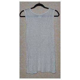 Yves Saint Laurent-Knitwear-White