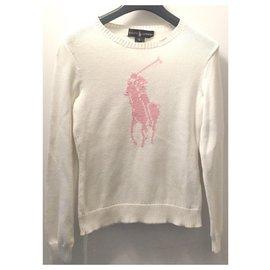 Ralph Lauren-Tricots-Blanc