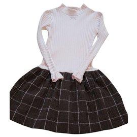 Autre Marque-Kleider-Mehrfarben