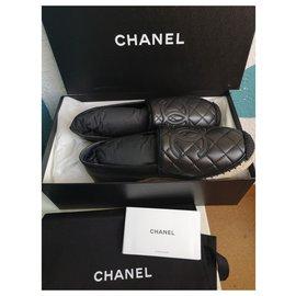Chanel-Espadrilles Chanel-Black